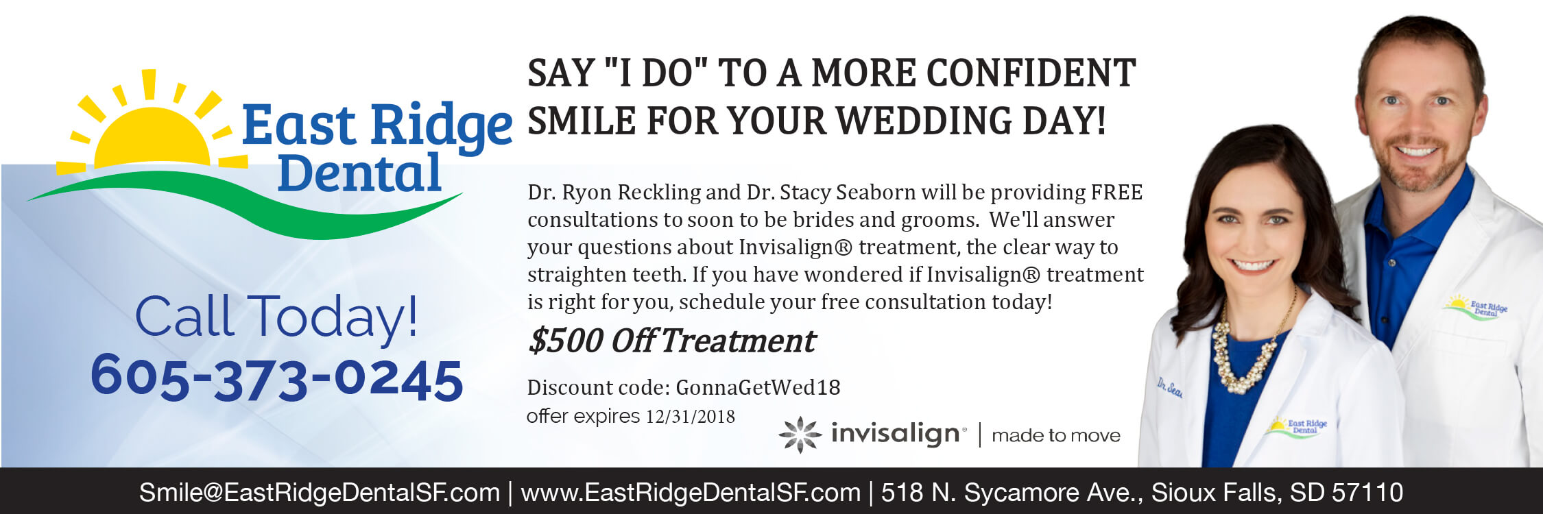 East Ridge Dental Sioux Falls Promotions & Special Offers
